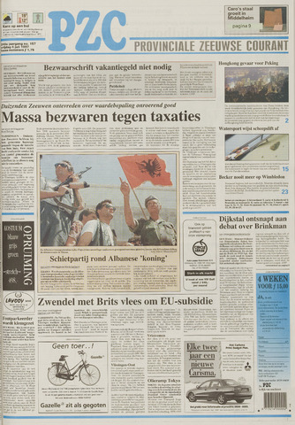 Provinciale Zeeuwse Courant 1997-07-04