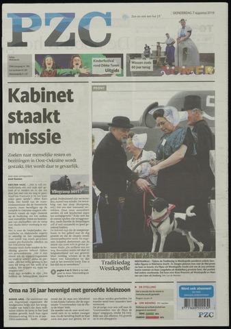 Provinciale Zeeuwse Courant 2014-08-07