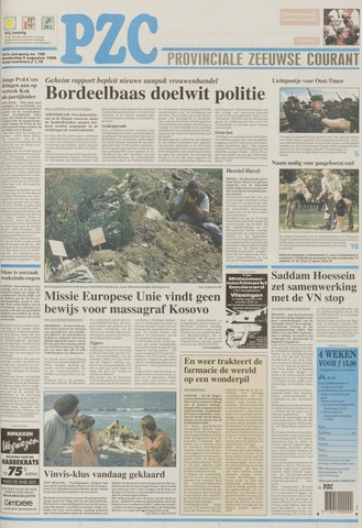 Provinciale Zeeuwse Courant 1998-08-06