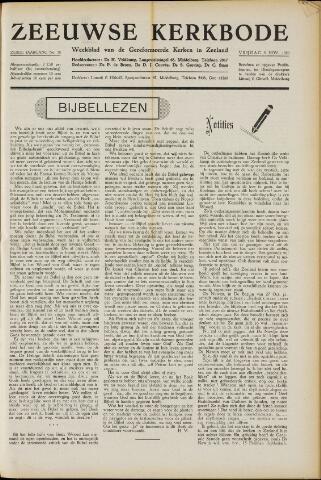 Zeeuwsche kerkbode, weekblad gewijd aan de belangen der gereformeerde kerken/ Zeeuwsch kerkblad 1950-11-03