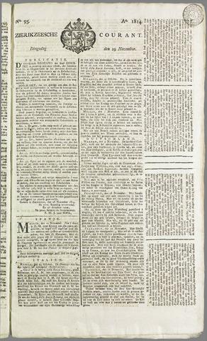 Zierikzeesche Courant 1814-11-29