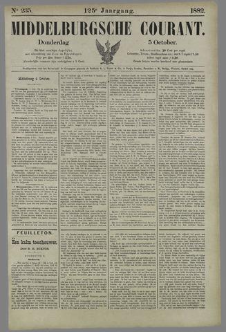 Middelburgsche Courant 1882-10-05
