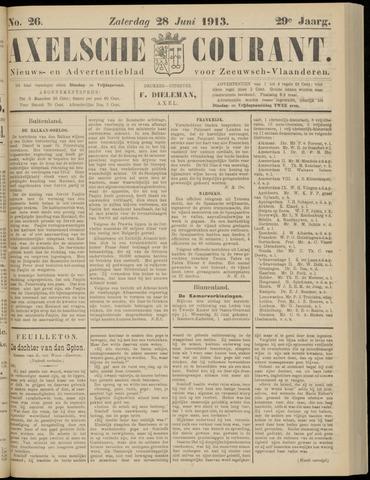Axelsche Courant 1913-06-28