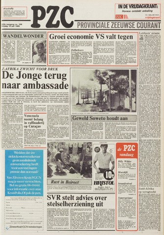Provinciale Zeeuwse Courant 1985-07-19