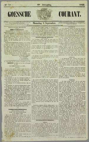 Goessche Courant 1862-09-08