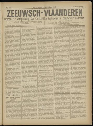 Luctor et Emergo. Antirevolutionair nieuws- en advertentieblad voor Zeeland / Zeeuwsch-Vlaanderen. Orgaan ter verspreiding van de christelijke beginselen in Zeeuwsch-Vlaanderen 1918-10-16