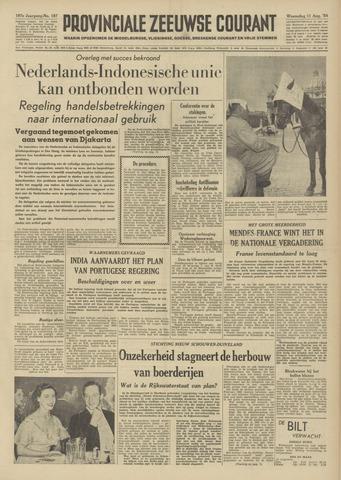 Provinciale Zeeuwse Courant 1954-08-11