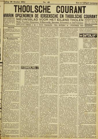 Ierseksche en Thoolsche Courant 1934-10-26
