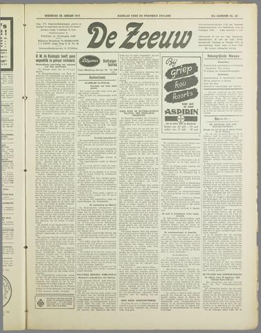 De Zeeuw. Christelijk-historisch nieuwsblad voor Zeeland 1937-01-20