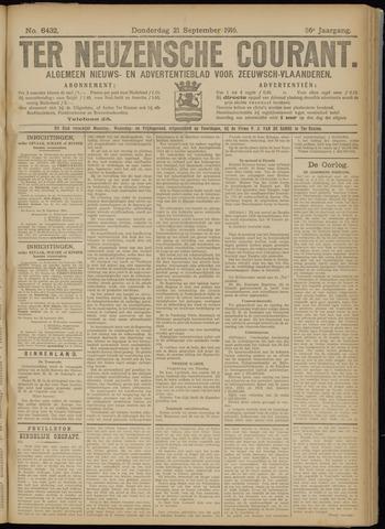 Ter Neuzensche Courant. Algemeen Nieuws- en Advertentieblad voor Zeeuwsch-Vlaanderen / Neuzensche Courant ... (idem) / (Algemeen) nieuws en advertentieblad voor Zeeuwsch-Vlaanderen 1916-09-21