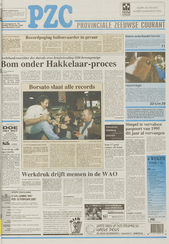 Provinciale Zeeuwse Courant 1997-01-18