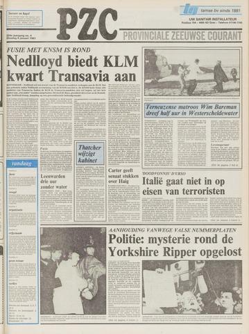 Provinciale Zeeuwse Courant 1981-01-06
