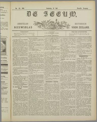 De Zeeuw. Christelijk-historisch nieuwsblad voor Zeeland 1898-07-14
