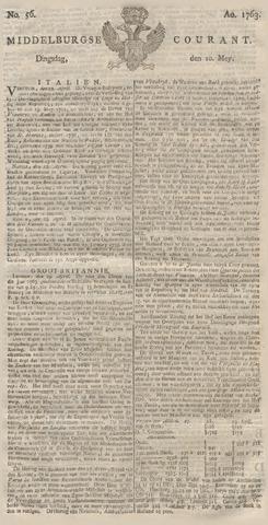 Middelburgsche Courant 1763-05-10