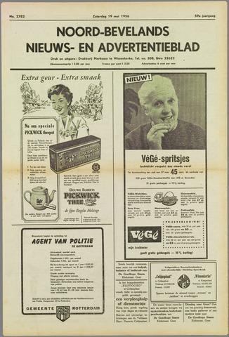 Noord-Bevelands Nieuws- en advertentieblad 1956-05-19