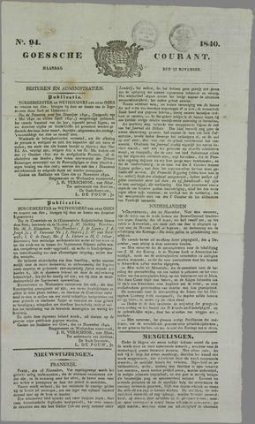 Goessche Courant 1840-11-23