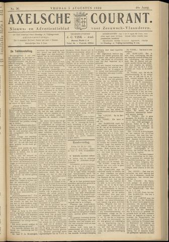 Axelsche Courant 1932-08-05