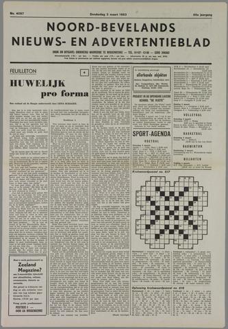 Noord-Bevelands Nieuws- en advertentieblad 1983-03-03