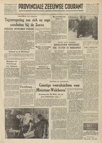 Provinciale Zeeuwse Courant 1958-04-04