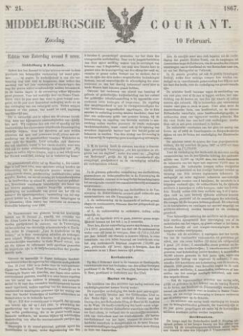 Middelburgsche Courant 1867-02-10