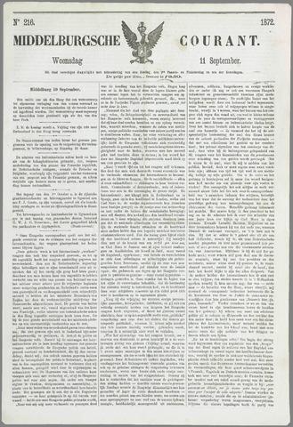 Middelburgsche Courant 1872-09-11