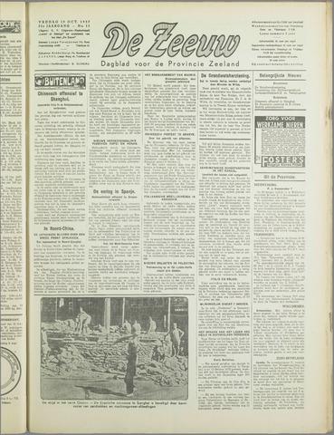 De Zeeuw. Christelijk-historisch nieuwsblad voor Zeeland 1937-10-15