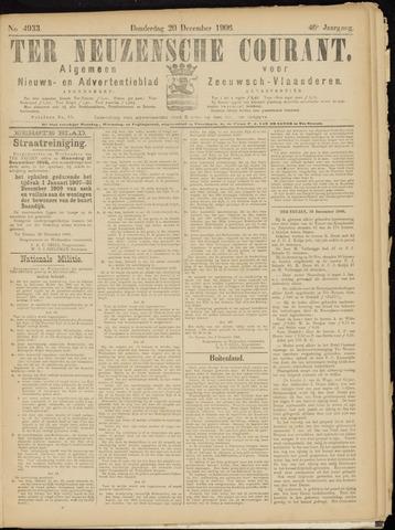 Ter Neuzensche Courant. Algemeen Nieuws- en Advertentieblad voor Zeeuwsch-Vlaanderen / Neuzensche Courant ... (idem) / (Algemeen) nieuws en advertentieblad voor Zeeuwsch-Vlaanderen 1906-12-20