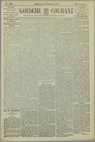 Goessche Courant 1919-10-18