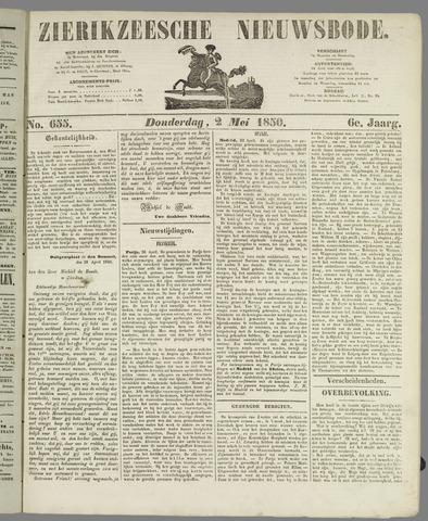 Zierikzeesche Nieuwsbode 1850-05-02