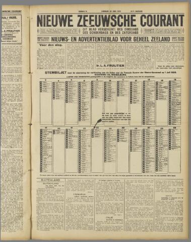 Nieuwe Zeeuwsche Courant 1925-06-30