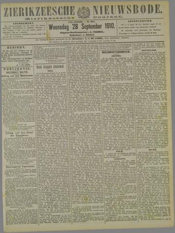 Zierikzeesche Nieuwsbode 1910-09-28