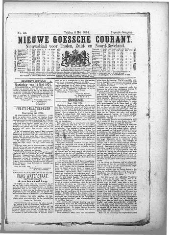 Nieuwe Goessche Courant 1874-05-08