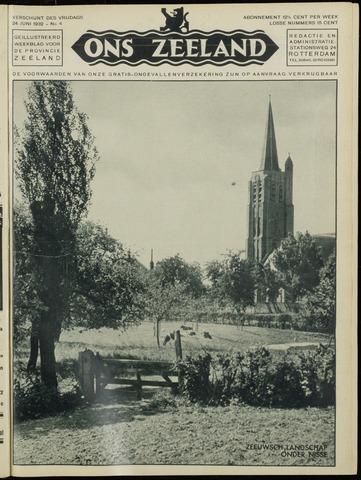 Ons Zeeland / Zeeuwsche editie 1932-06-24