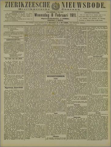 Zierikzeesche Nieuwsbode 1911-02-08