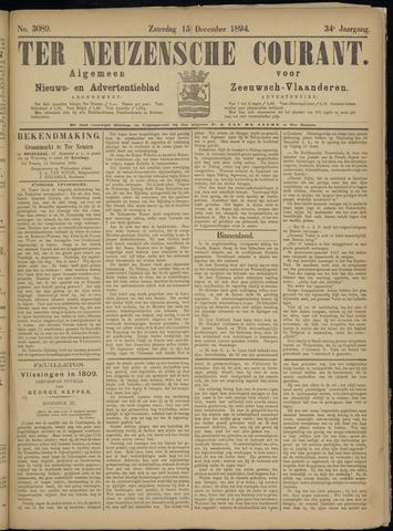 Ter Neuzensche Courant. Algemeen Nieuws- en Advertentieblad voor Zeeuwsch-Vlaanderen / Neuzensche Courant ... (idem) / (Algemeen) nieuws en advertentieblad voor Zeeuwsch-Vlaanderen 1894-12-15
