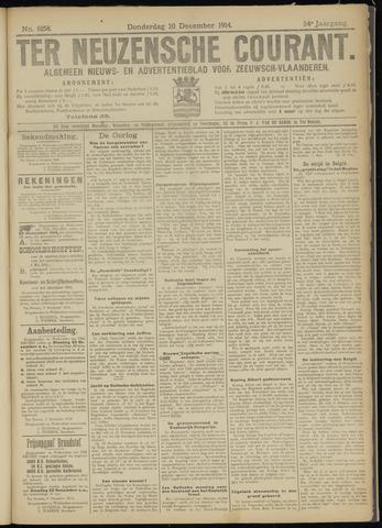 Ter Neuzensche Courant. Algemeen Nieuws- en Advertentieblad voor Zeeuwsch-Vlaanderen / Neuzensche Courant ... (idem) / (Algemeen) nieuws en advertentieblad voor Zeeuwsch-Vlaanderen 1914-12-10