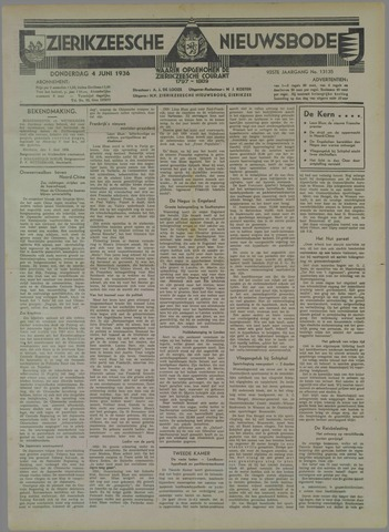 Zierikzeesche Nieuwsbode 1936-06-04