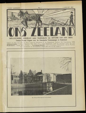 Ons Zeeland / Zeeuwsche editie 1929-01-05