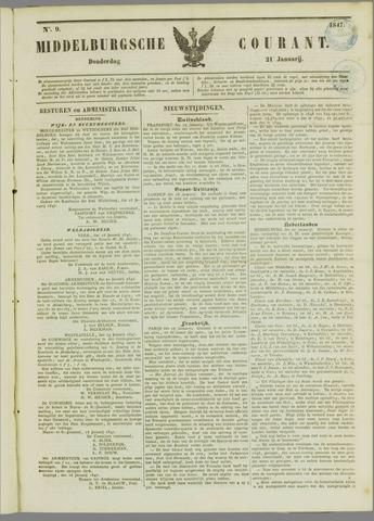 Middelburgsche Courant 1847-01-21