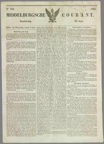 Middelburgsche Courant 1865-06-29