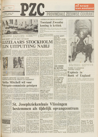Provinciale Zeeuwse Courant 1973-08-27