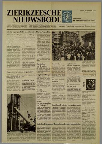 Zierikzeesche Nieuwsbode 1970-08-25