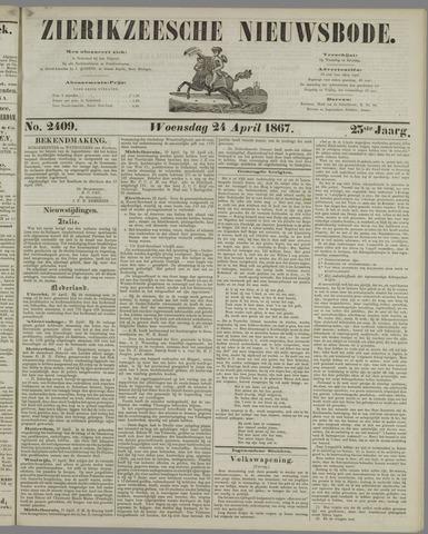 Zierikzeesche Nieuwsbode 1867-04-24