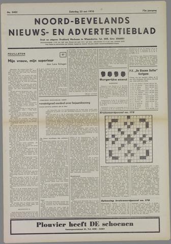 Noord-Bevelands Nieuws- en advertentieblad 1970-05-23