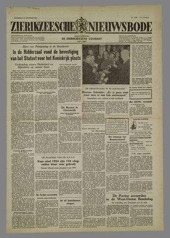 Zierikzeesche Nieuwsbode 1954-12-16