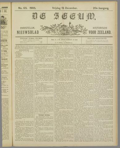 De Zeeuw. Christelijk-historisch nieuwsblad voor Zeeland 1905-12-15