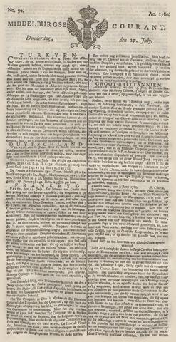 Middelburgsche Courant 1780-07-27