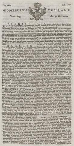 Middelburgsche Courant 1777-12-04