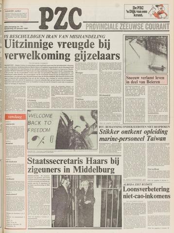 Provinciale Zeeuwse Courant 1981-01-22