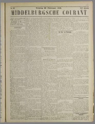 Middelburgsche Courant 1919-02-28